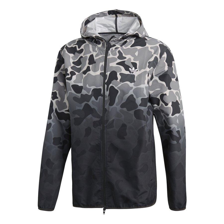 Šedá pánská bunda Adidas - velikost M