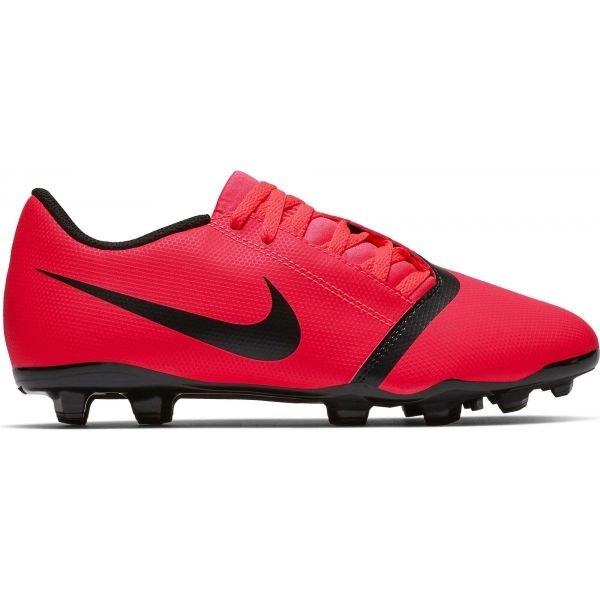 Červené chlapecké kopačky lisovky Nike