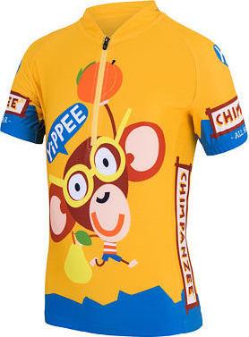 Žlutý dětský cyklistický dres Sensor