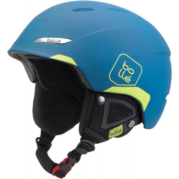 Modrá lyžařská helma Bollé - velikost 54-58 cm