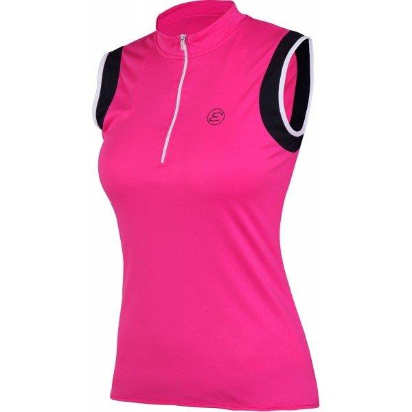 Růžový dámský cyklistický dres Etape - velikost M