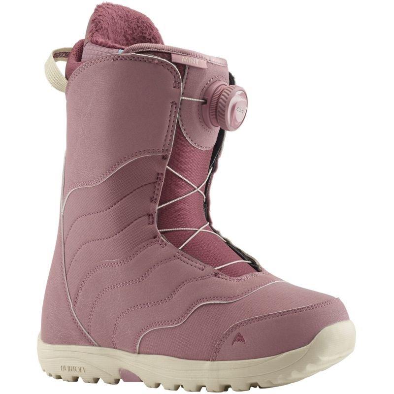 Růžové dámské boty na snowboard Burton - velikost 41 EU