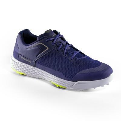 Modré pánské golfové boty Grip Dry, Inesis