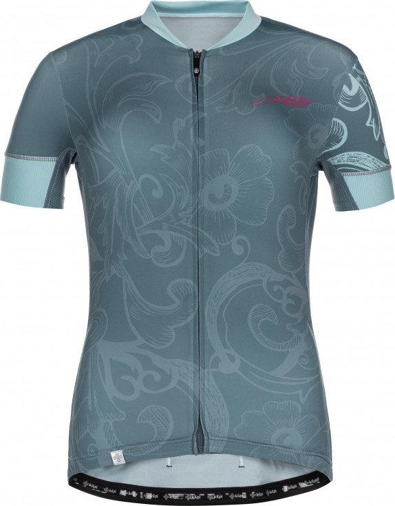 Modrý dámský cyklistický dres Kilpi