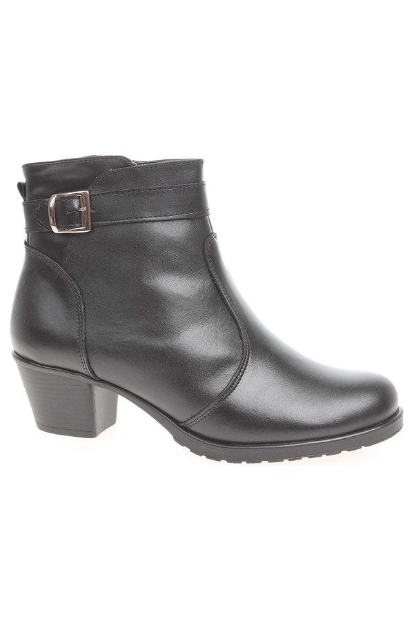 Černé dámské zimní boty Hujo