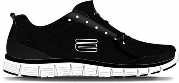 Černé dámské běžecké boty flex V5, Oxide - velikost 38 EU