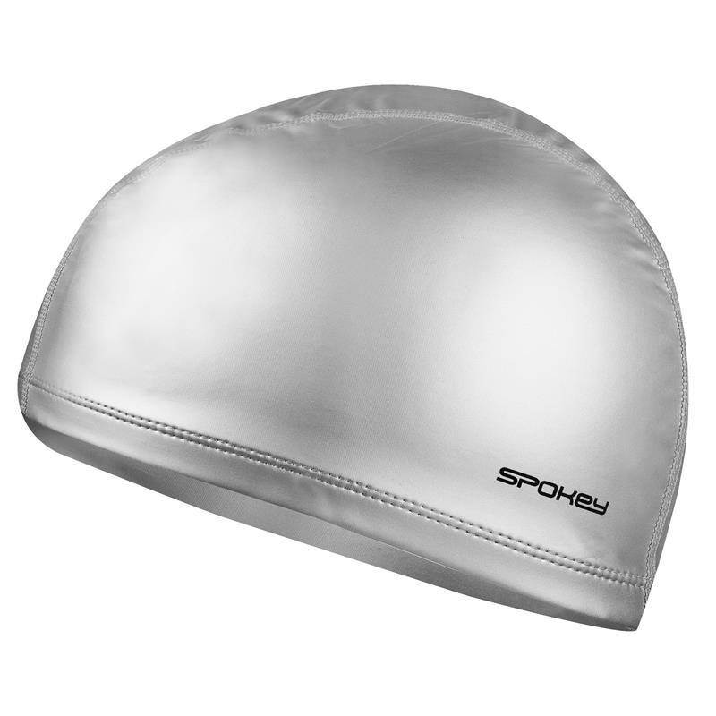Stříbrná pánská nebo dámská plavecká čepice Torpedo, Spokey