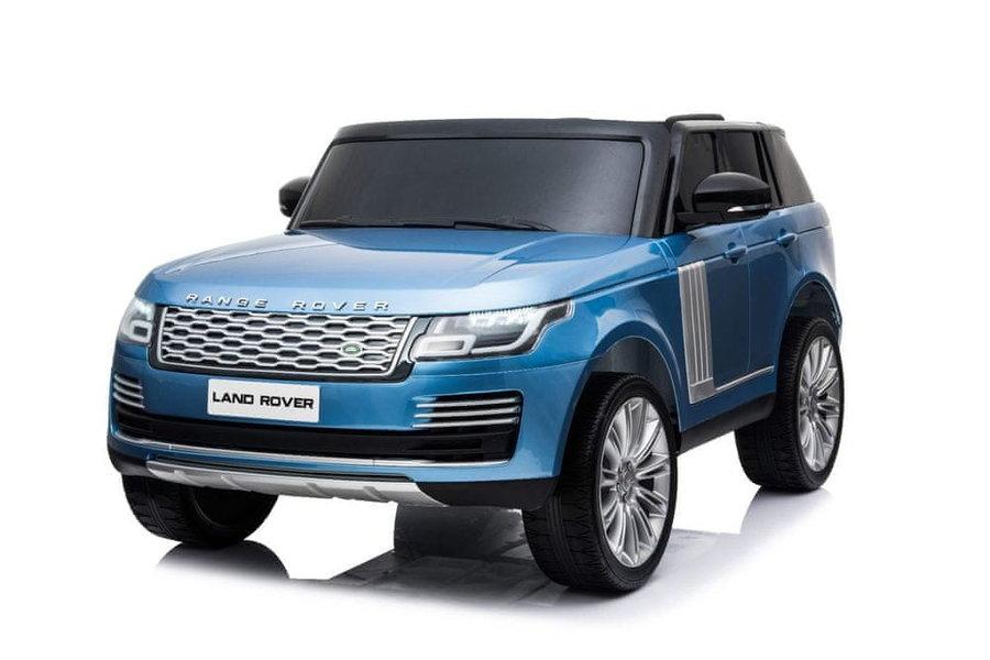 Modré dětské elektrické autíčko Range Rover, Beneo