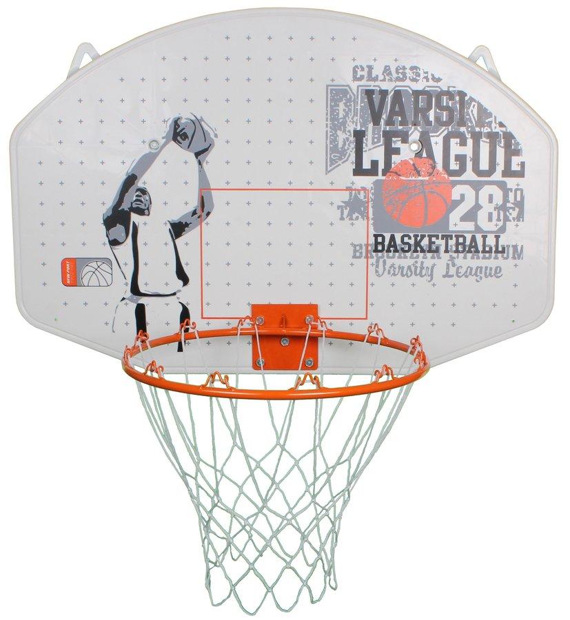 Basketbalový koš s deskou New Port - průměr 45 cm