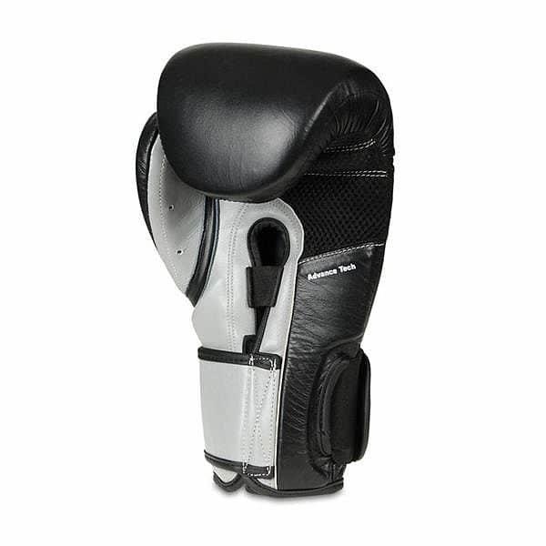 Šedé boxerské rukavice Bushido - velikost 12 oz