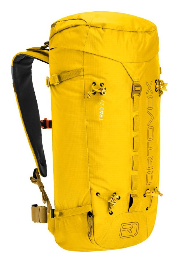 Žlutý horolezecký batoh Ortovox - objem 25 l