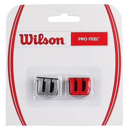 Vibrastop - Pro Feel vibrastop barva: červená-stříbrná;balení: blistr 2 ks