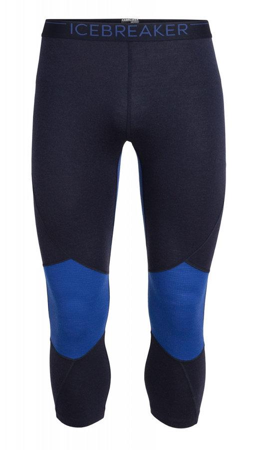 Modré pánské funkční kalhoty Icebreaker - velikost XXL