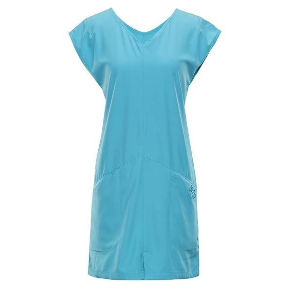 Modré dámské šaty Alpine Pro - velikost XS
