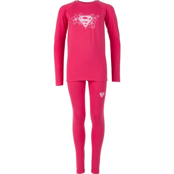 Růžový dívčí funkční komplet Warner Bros