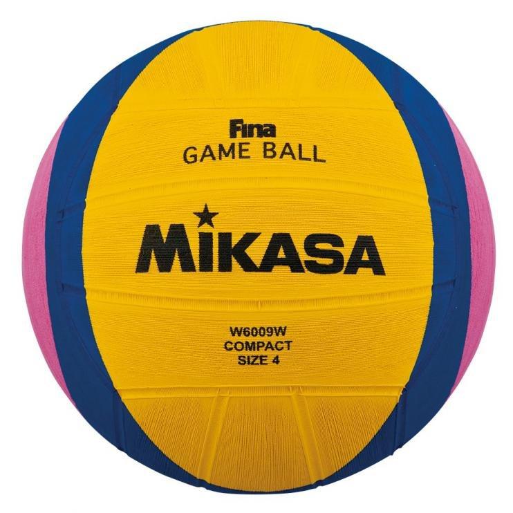 Různobarevný míč na vodní pólo pro ženy W6009W, Mikasa - velikost 4