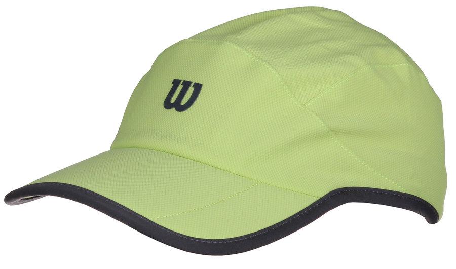 Zelená tenisová kšiltovka Wilson