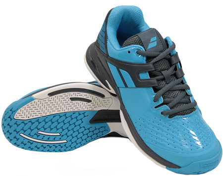 Modro-šedá pánská tenisová obuv Propulse, Babolat
