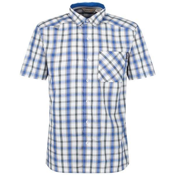 Modrá pánská košile s krátkým rukávem Regatta