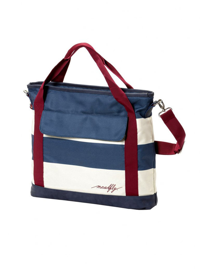 Kabelka - Meatfly Kuna Ladies Bag E - Navy Stripe Velikost: JEDNOTNÁ VELIKOST