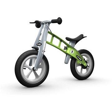 Zelené dětské odrážedlo Firstbike
