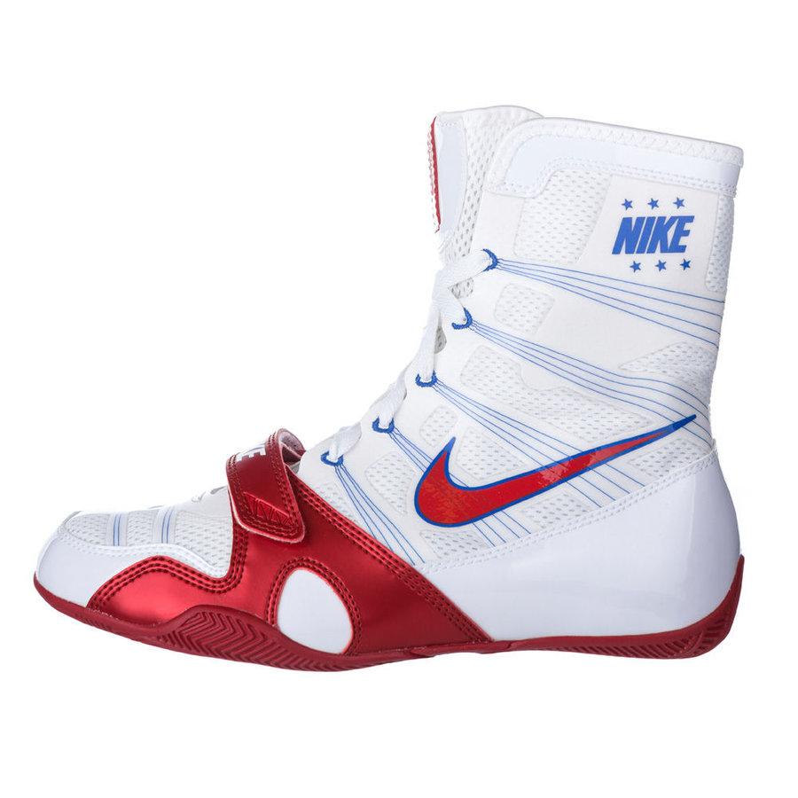 Bílé boxerské boty - obuv HyperKO, Nike - velikost 48,5 EU