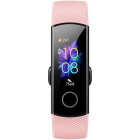 Růžový fitness náramek Band 5, Honor
