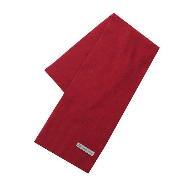 Červená šála Alpine Pro