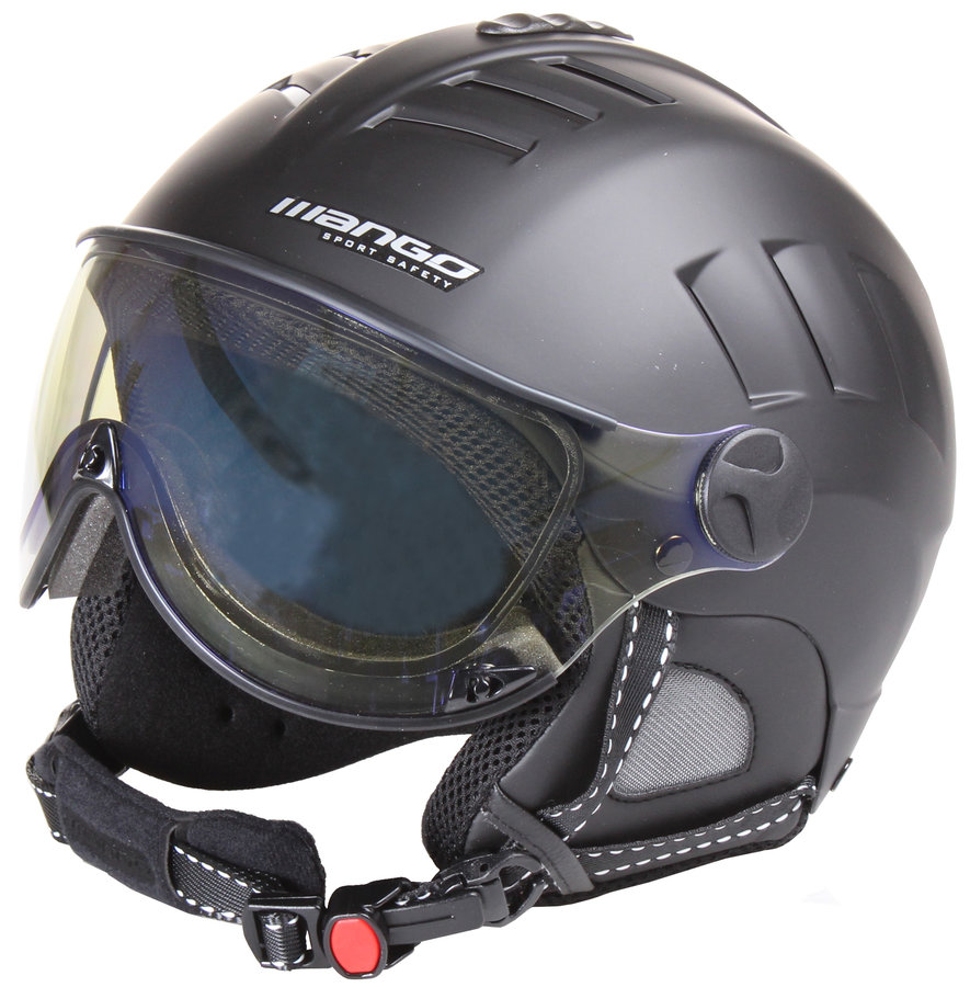 Černá lyžařská helma Volcano VIP, Mango - velikost 56-58 cm