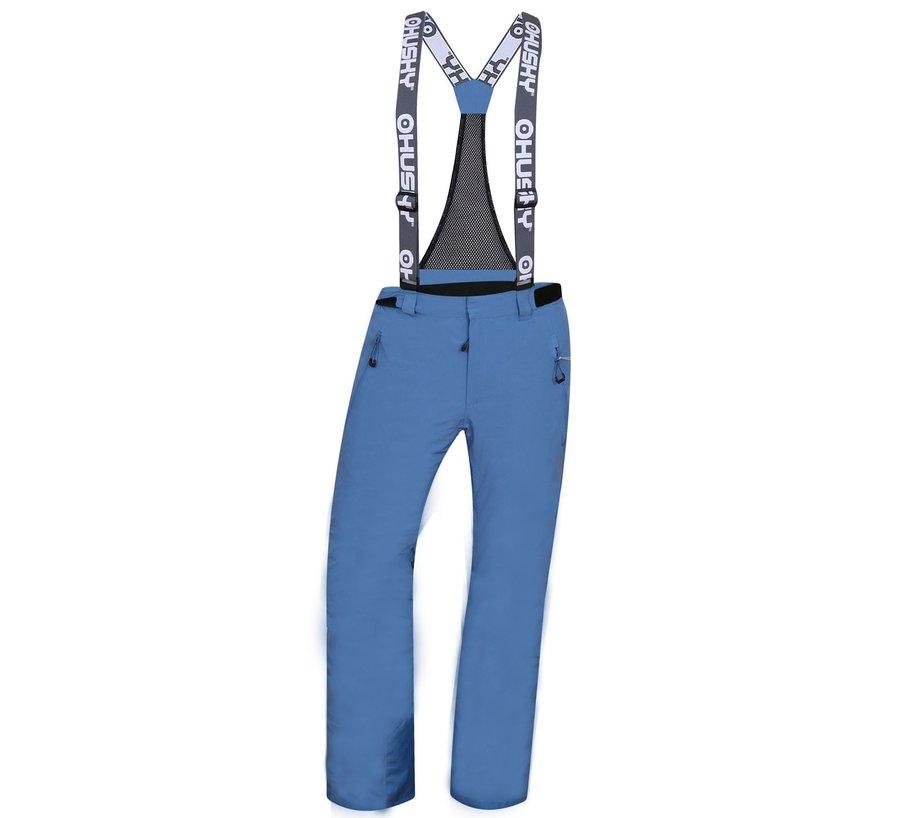 Modré pánské lyžařské kalhoty Husky