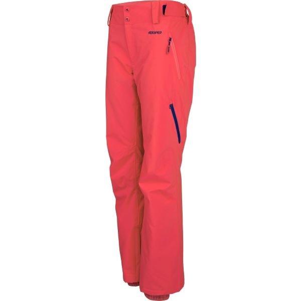 Červené dámské snowboardové kalhoty Reaper - velikost XL