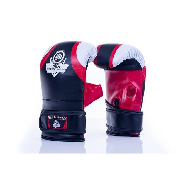 Černo-červené boxerské rukavice Bushido - velikost M