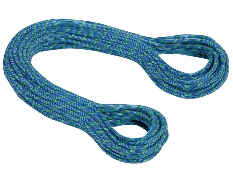 Modré lano Twilight Dry, MAMMUT - průměr 7,5 mm a délka 50 m