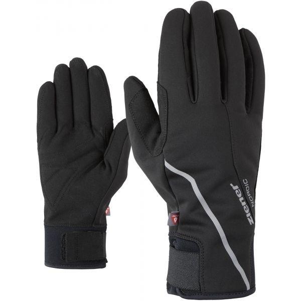 Černé rukavice na běžky Ziener