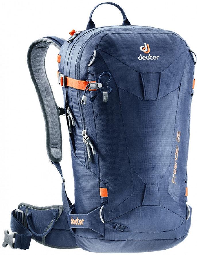 Modrý skialpový batoh Deuter - objem 26 l