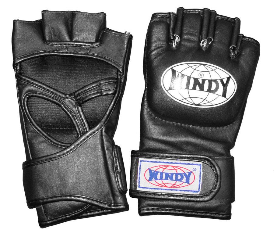 Černé MMA rukavice WINDY - velikost L