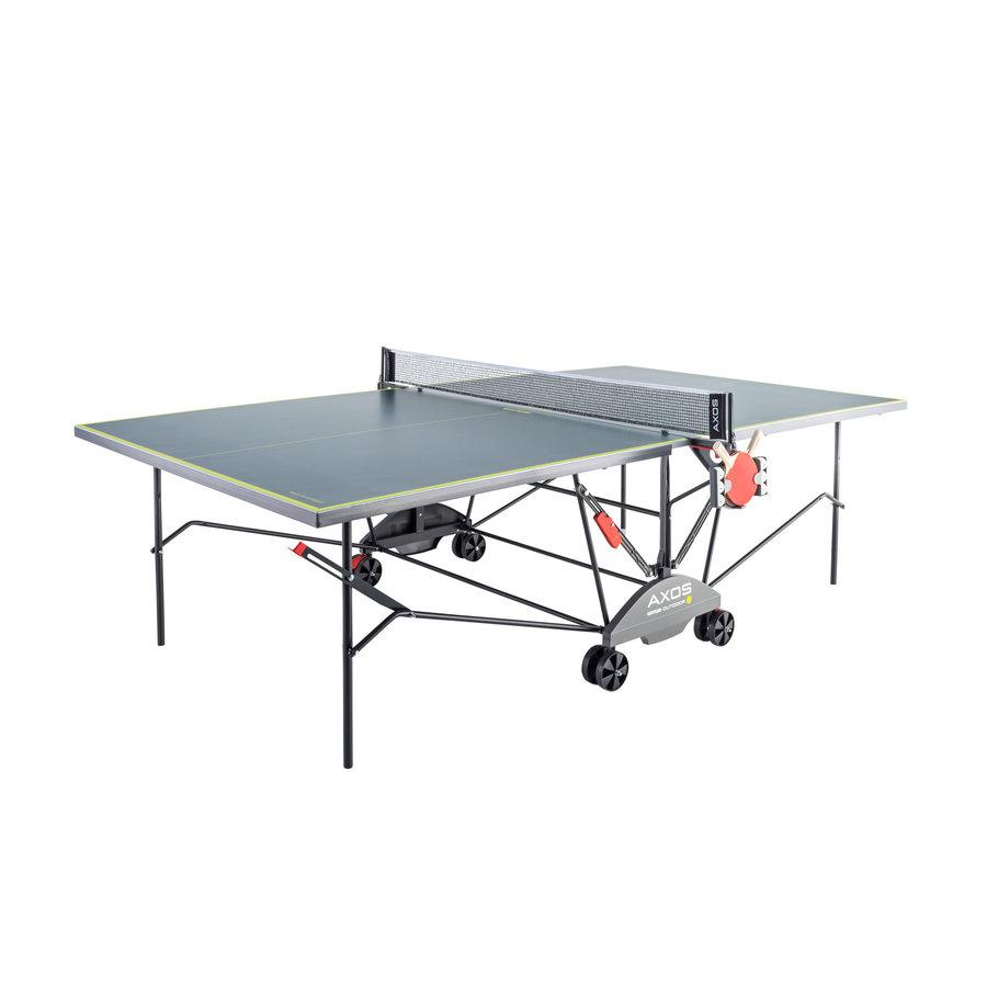 Šedo-žlutý venkovní stůl na stolní tenis OUTDOOR 3, Kettler