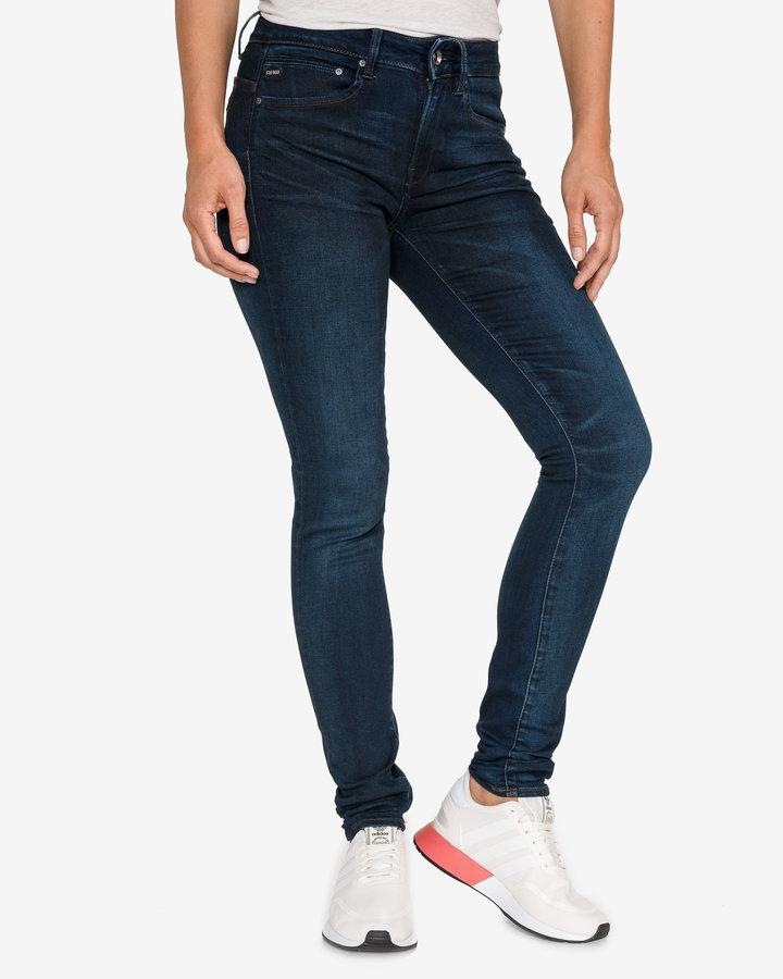 Modré dámské džíny G-Star RAW - velikost 27