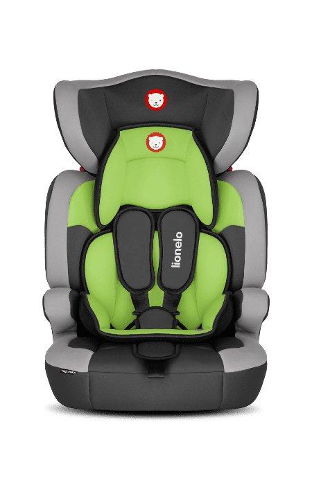 Zelená dětská autosedačka LEVI ONE, Lionelo - nosnost 36 kg