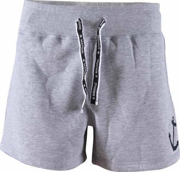 Kraťasy - MARINE - kr.kalhoty (jogging) - šedé melange