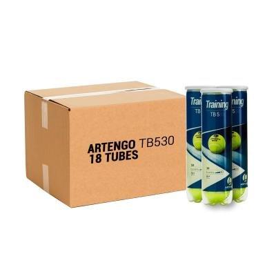 Žlutý tenisový míček TB 530, Artengo - 18 ks