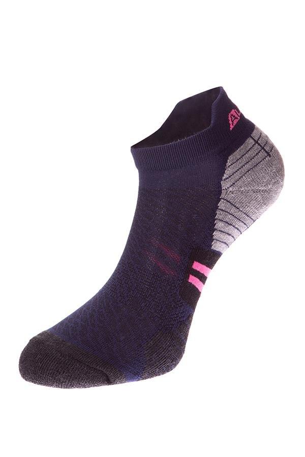 Černé kotníkové ponožky Alpine Pro - velikost L