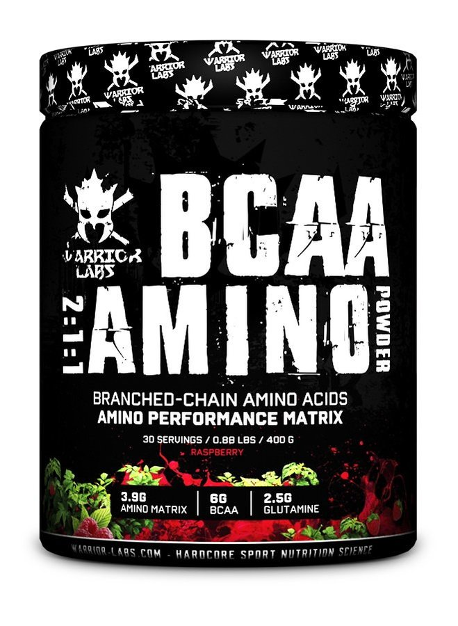 BCAA - BCAA Amino Powder - Warrior Labs 400 g Blueberry
