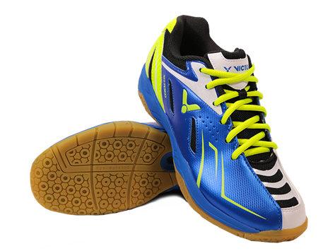 Modrá pánská sálová obuv SH-A360, Victor