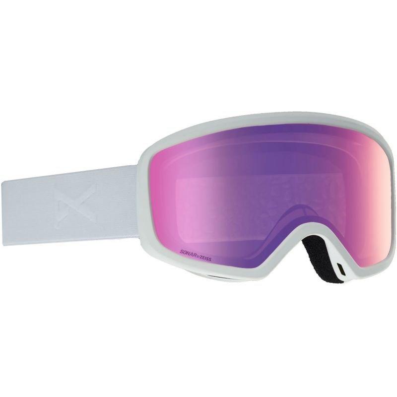 Bílé brýle na snowboard Anon