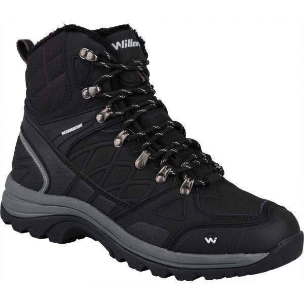 Černé pánské zimní boty HARRY, Willard