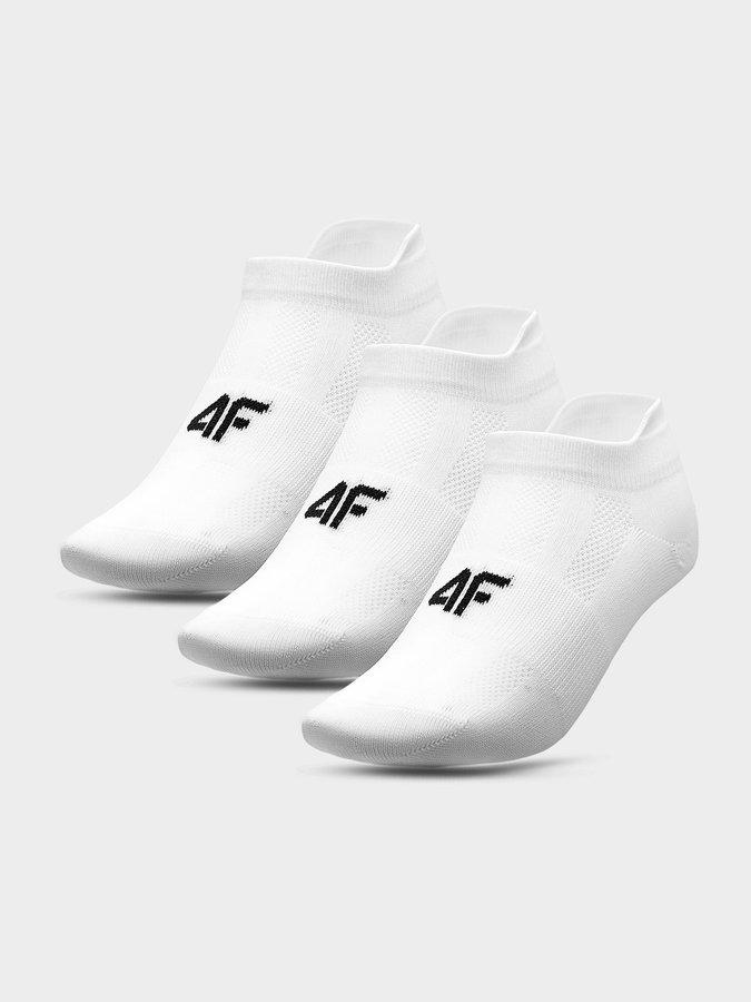 Bílé pánské ponožky 4F