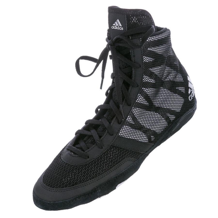 Černé zápasnické boty Pretereo III, Adidas