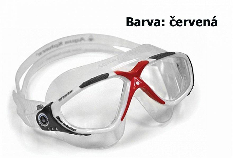 Červené pánské plavecké brýle TORA, Aqua Sphere