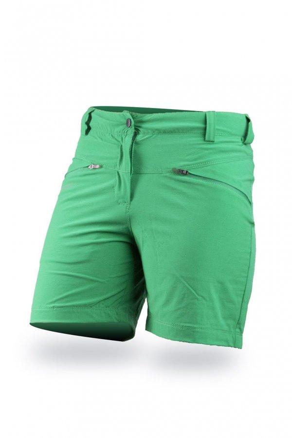 Zelené sportovní dámské kraťasy Trimm